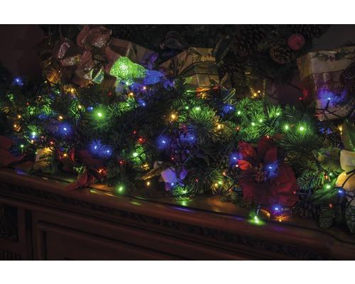 Guirlande lumineuse LED Lafiora extérieur et intérieur 360 ampoules multicolore
