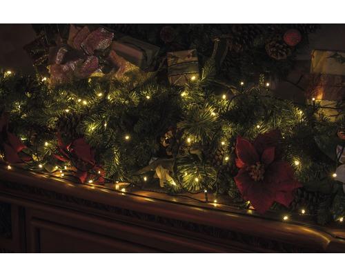 Guirlande lumineuse LED Lafiora 360 ampoules extérieur et intérieur blanc chaud