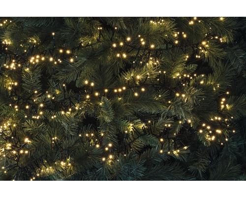 Guirlande lumineuse buissons LED Lafiora extérieur et intérieur 560 ampoules blanc chaud