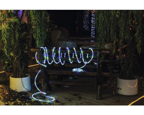 Cordon lumineux LED Lafiora extérieur et intérieur 9m multicolore