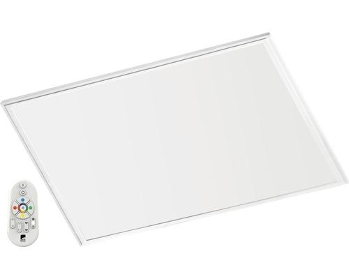 Panneau LED RJB CCT blanc à intensité lumineuse variable 34W 4300 lm 2765 K blanc chaud 595x595 mm avec télécommande Crosslink
