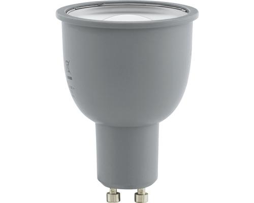 Ampoule LED RGB CCT à intensité lumineuse variable GU10/5W 400 lm 2750 K blanc chaud