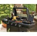 Barbecue à gaz Tenneker® Halo barbecue à gaz TG 3 3 feux + feu latéral, grille en fonte d'acier, système de plateforme, insert vitré dans le couvercle
