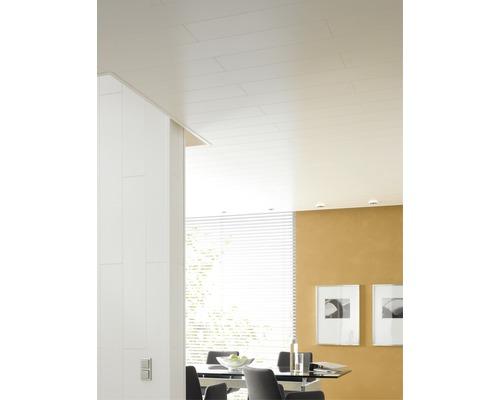 Panneau de décoration Trendy Duo blanc cristal 10x200x1200 mm