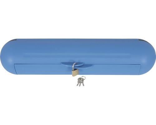 CEE Stecker Safe-Box IP44 mit Schloß blau