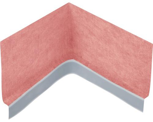 Angle d''étanchéité de rebord de baignoire L 155x155 H 120 mm