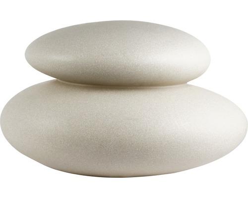 Objet lumineux 8Seasons Shining Stone pour extérieur & intérieur 39x25x33 cm sable