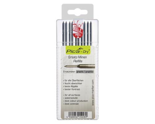 Graphit Ersatzminen-Set Pica Dry 10 Stück