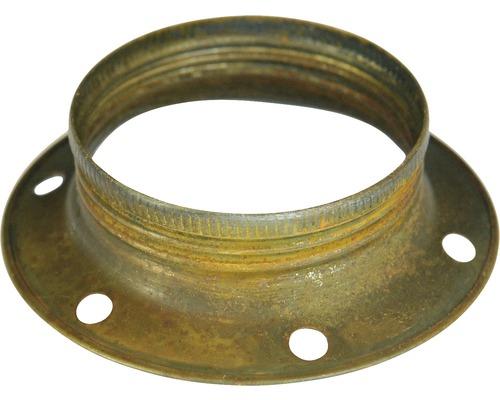 Bague filetée E27 métallique, vintage patine