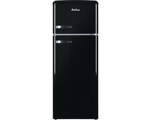 Réfrigérateur-congélateur Amica KGC 15634 S lxhxp 55 x 144 x 61.5 cm compartiment de réfrigération 162 l compartiment de congélation 44 l