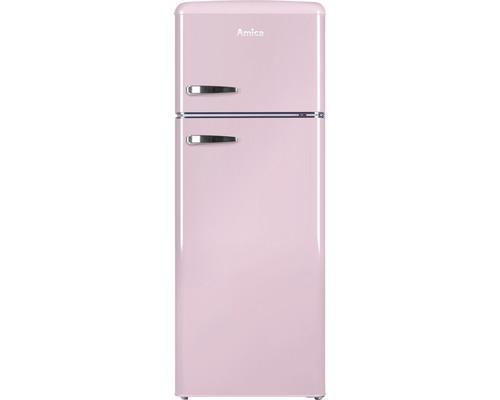 Réfrigérateur-congélateur Amica KGC 15636 P lxhxp 55 x 144 x 61.5 cm compartiment de réfrigération 162 l compartiment de congélation 44 l