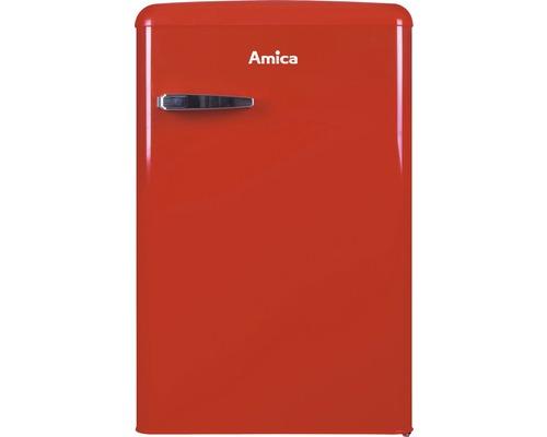 Réfrigérateur avec compartiment de congélation Amica KS 15610 R lxhxp 55 x 86 x 61.5 cm compartiment de réfrigération 95 l compartiment de congélation 13 l