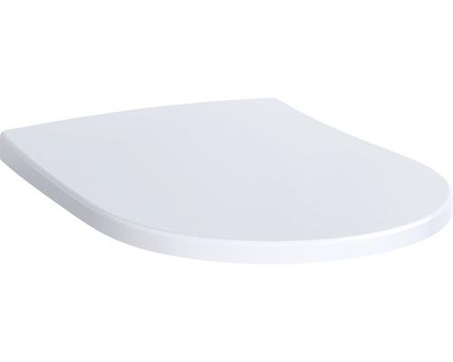Abattant WC Keramag/GEBERIT Acanto Slim blanc antibactérien avec abaissement automatique et Quick Release 500605012
