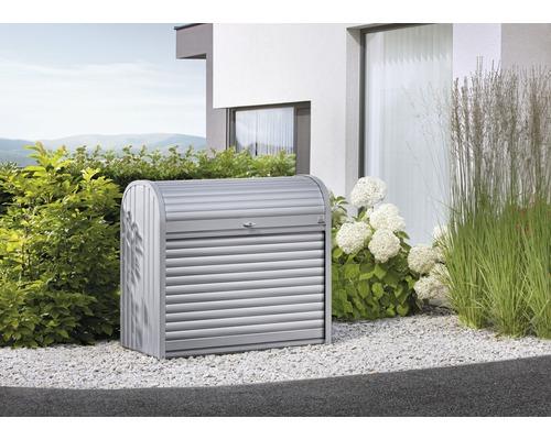 StoreMax 160, 163 x 78 x 120 cm, argent-métallique