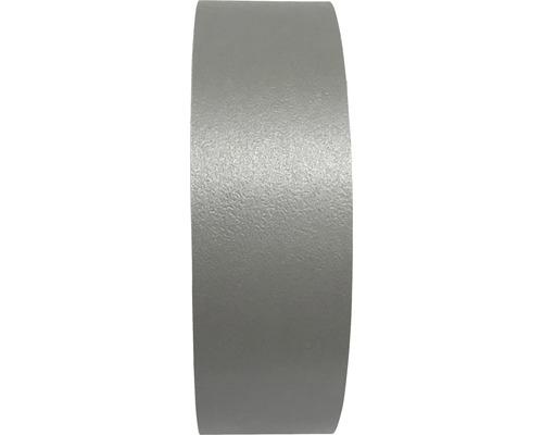 Kantenumleimer Edelstahlgrau mit Schmelzkleber 0,3x20x5000 mm