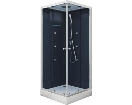 Douche design «Blue River Square 2.0» 90x90cm