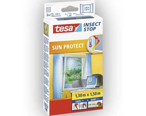 Moustiquaire pour fenêtre Sun Protect tesa Insect Stop Comfort anthracite 130x150 cm