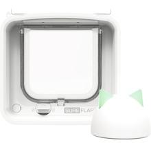 Trappe pour chats SureFlap Connect à micropuce 210x210mm blanc-thumb-7