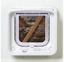 Trappe pour chats SureFlap Connect à micropuce 210x210mm blanc-thumb-6