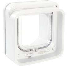Trappe pour chats SureFlap Connect à micropuce 210x210mm blanc-thumb-0