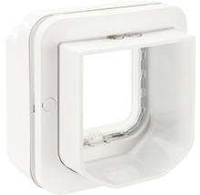 Trappe pour chats SureFlap Connect à micropuce 210x210mm blanc-thumb-9