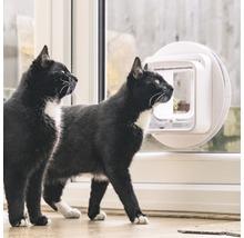 Trappe pour chats SureFlap Connect à micropuce 210x210mm blanc-thumb-14