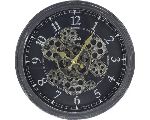 Horloge murale pignons Ø 37 cm