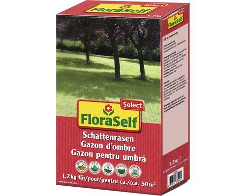 Semences de gazon FloraSelf Select zone ombragée 1,2kg 50m²