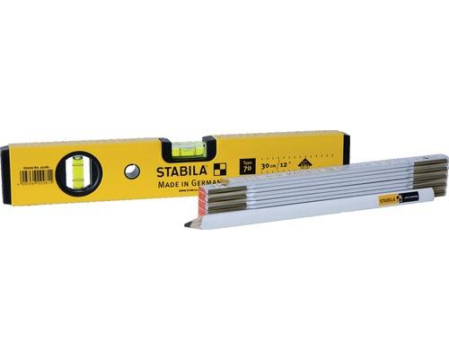 Wasserwaagen Set Stabila 3-tlg