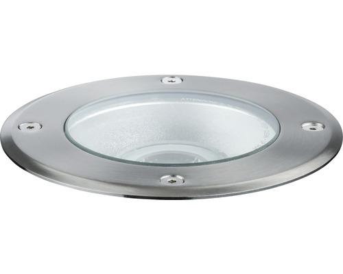 Spot à encastrer Plug & Shine IP67 6W 609 lm 3000 K blanc chaud Ø 140/135 mm argent 230/24V 20°