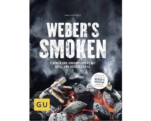 Livre Weber''s Smoken 240 pages relié