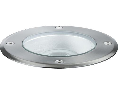 Spot à encastrer Plug & Shine IP67 6W 483 lm 4000 K blanc neutre Ø 140/135 mm argent 230/24V 38°