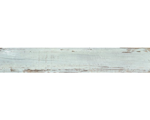 Carrelage pour sol en grès cérame fin Tribeca aqua 20 x 120 cm