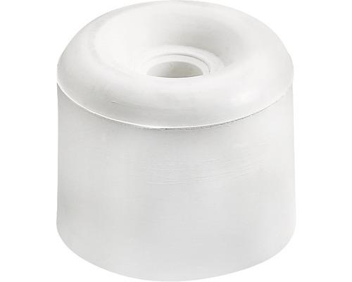 Butoir de porte Ø 30 mm blanc, à visser
