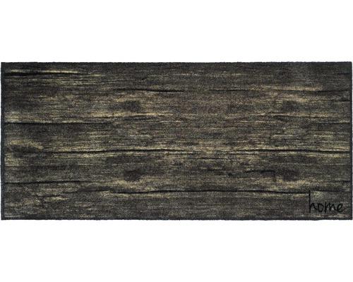 Paillasson anti-salissures universal home wood 67x150 cm