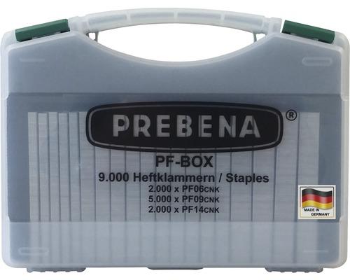 Agrafes Prebena type PF-BOX 9000 pièces