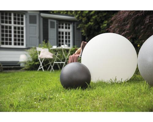 Objet lumineux 8Seasons Shining Globe pour extérieur et intérieur Ø 30 cm, anthracite