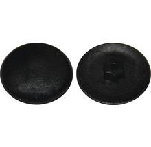 Cache pour empreinte étoile T 10, noir, plastique, 50 pièces-thumb-0