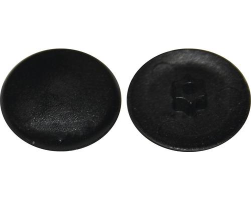 Cache pour empreinte étoile T 10, noir, plastique, 50 pièces-0