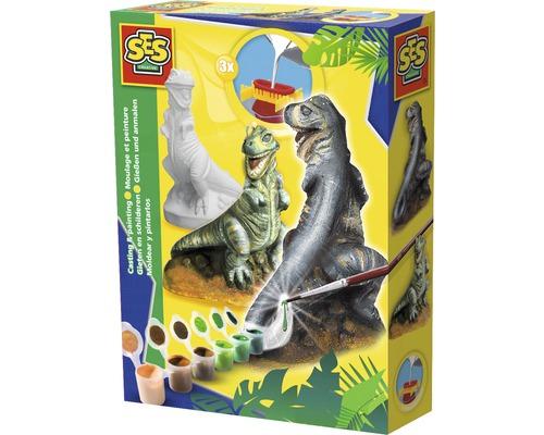 Kit créatif Figurine plâtre T-Rex