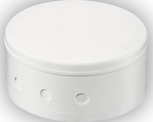 Baldaquin de distribution plastique blanc