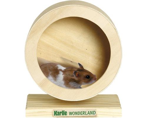 Roue en bois Karlie Bogie Wheel 15 cm, naturel