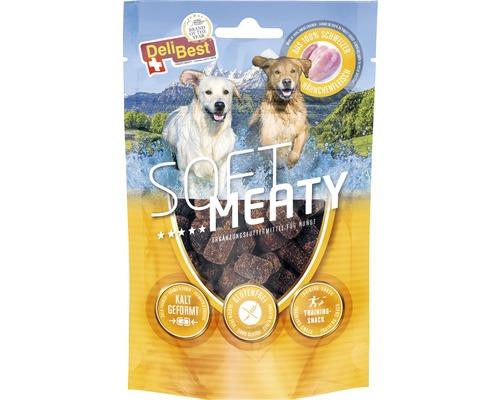 Hundesnack DeliBest Soft Meaty Dog mit Schweizer Hähnchen 150 g