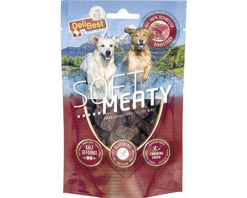 Hundesnack DeliBest Soft Meaty Dog mit Schweizer Rind 150 g
