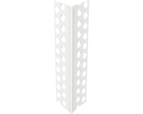 Profilé cintrable CATNIC en PVC résistant au choc 2500 x 25 x 25 mm