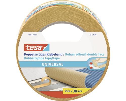 tesa doppelseitiges Klebeband Universal 25m x 38mm