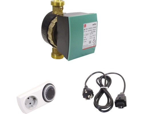 Pompe de circulation à eau sanitaire Wilo Star-Z NOVA C