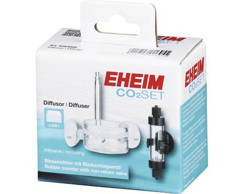 Diffuseur EHEIM CO2 Set avec compte-bulles 600 l