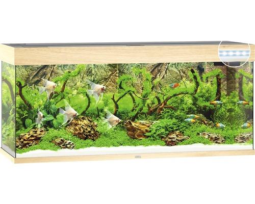 Aquarium Juwel Rio 240 LED sans meuble bas bois clair
