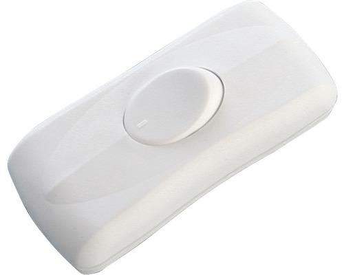 Interrupteur pour câble plat blanc